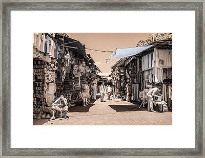 Marrakech Souk Framed Print