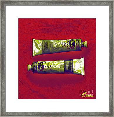 Marriage Equality Case Framed Print by Feile Case