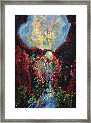 Marriage Of Heaven And Earth Framed Print by Shari Silvey