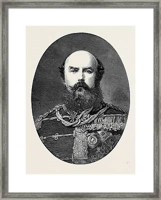 Marriage Of His Royal Highness The Duke Of Connaught Prince Framed Print