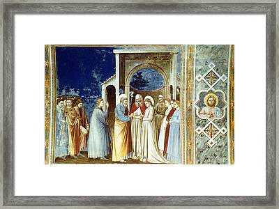 Marriage Of The Virgin Framed Print