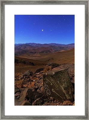 Mars In Opposition Framed Print by Babak Tafreshi
