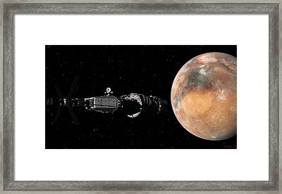 Mars Insertion A Different View Framed Print