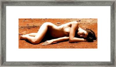 Mars Needs Women Framed Print by Charles Oscar
