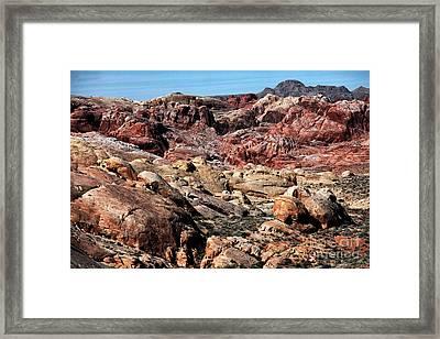 Mars On Earth Framed Print by John Rizzuto