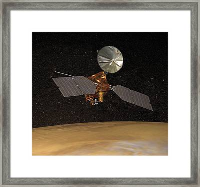 Mars Reconnaissance Orbiter Framed Print by Anonymous