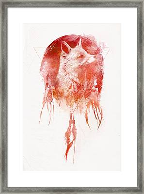 Mars Framed Print by Robert Farkas
