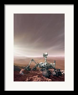 Mars Science Laboratory Framed Prints
