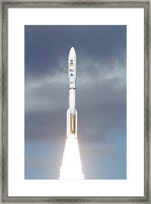 Mars Science Laboratory Spacecraft Launch Framed Print