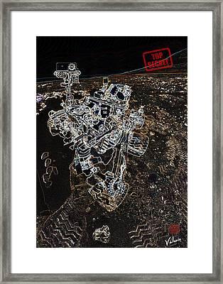 Mars Secret Framed Print