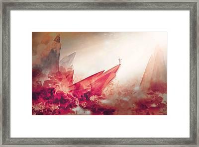 Mars Survivor Framed Print by Erickson Tahil