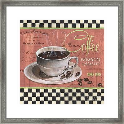 Marsala Coffee 1 Framed Print by Debbie DeWitt