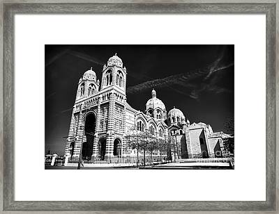 Marseille Cathedral Framed Print by John Rizzuto