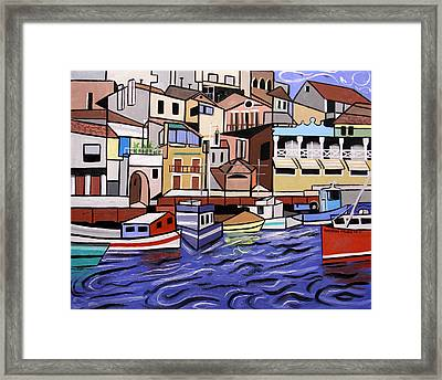 Marseille France Framed Print by Anthony Falbo