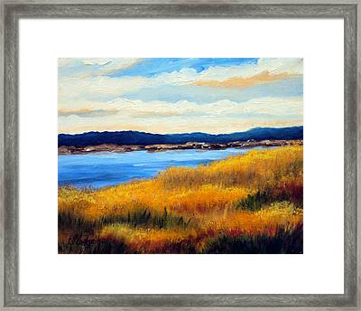 Marsh 3 Framed Print by Laura Tasheiko