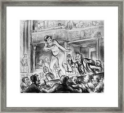 Marsh Burlesque, 1928 Framed Print by Granger