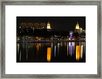 Marsh Chapel Boston University Framed Print