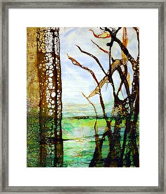 Marsh Grass Study Framed Print