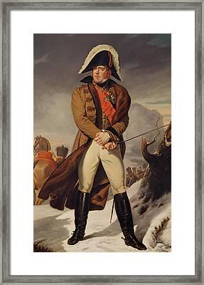 Marshal Michel Ney 1769-1815 Duke Of Elchingen Oil On Canvas Framed Print