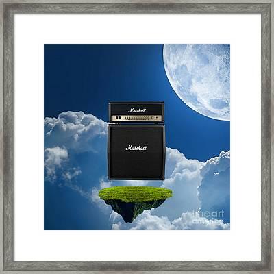 Marshall Amp Framed Print