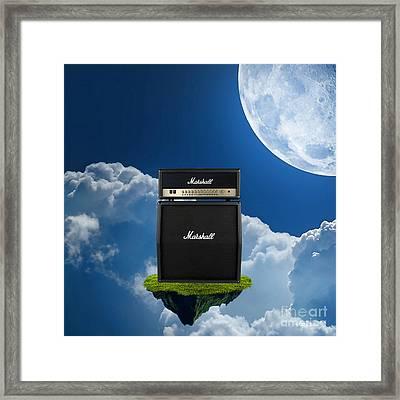 Marshall Amplifier Framed Print