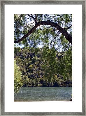 Marshall Field Dam Framed Print