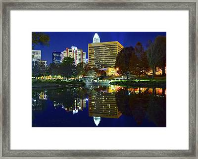 Marshall Park Reflection Framed Print