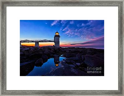 Marshall Point Lighthouse Framed Print by Donald Gargano