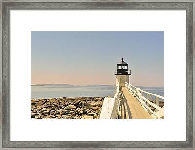 Marshall Point Lighthouse Maine Framed Print by Marianne Campolongo