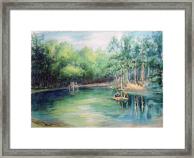 Marshallville Swimming Hole Framed Print