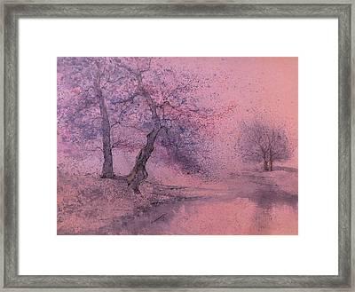 Marshell Creek IIII Framed Print by Anna Sandhu Ray