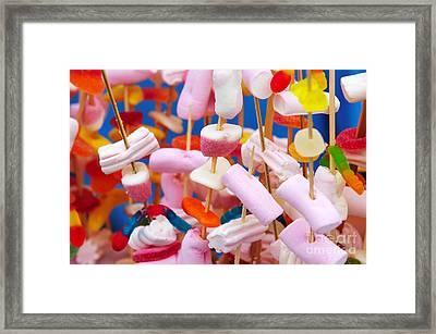 Marshmallow Framed Print by Carlos Caetano
