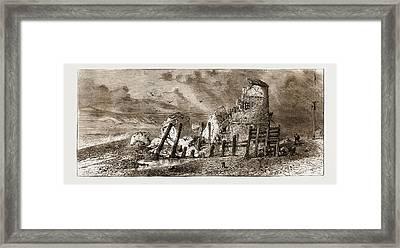 Martello Tower, Hastings, Uk, 1876 Framed Print