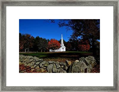 Marth-mary Chapel Framed Print by Brian Mooney