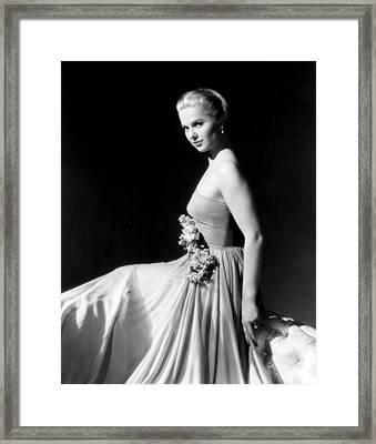 Martha Hyer, Ca. Mid-1950s Framed Print