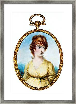Martha Jefferson, First Lady Framed Print