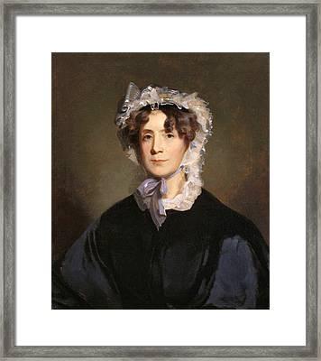 Martha Jefferson Randolph Framed Print by Underwood Archives