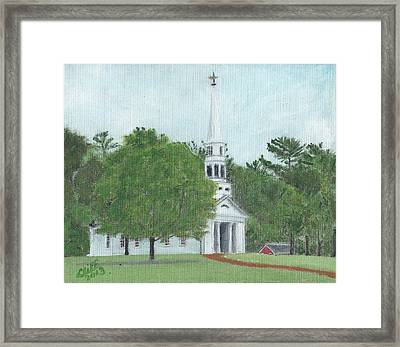 Martha Mary Chapel Framed Print by Cliff Wilson