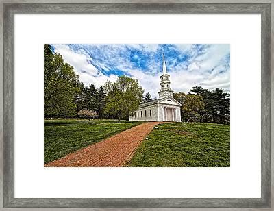 Martha- Mary Chapel Framed Print