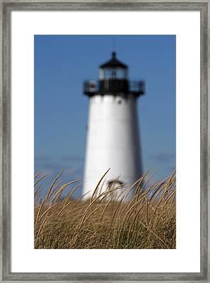 Martha's Vineyard Edgartown Lighthouse Framed Print