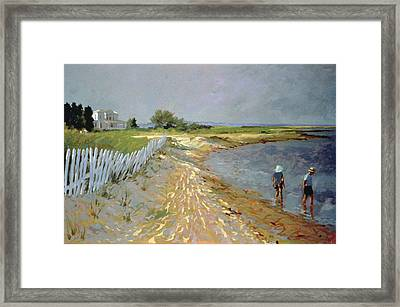 Marthas Vineyard  Framed Print by Sarah Butterfield