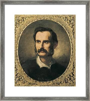 Marti I Alsina, Ramon 1826-1894. Narc�s Framed Print