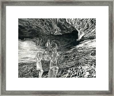 Martian Girls Framed Print by Katie Gotch