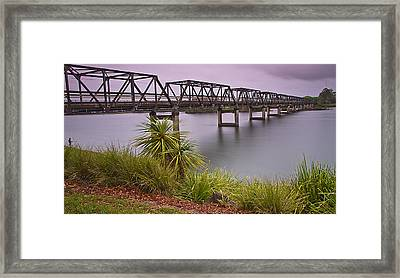 Martin Bridge 01 Framed Print by Kevin Chippindall