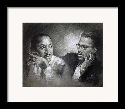 Martin Luther King Jr Framed Prints