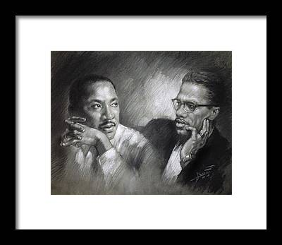 Martin Luther King Framed Prints