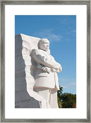 Martin Luther King Jr Memorial Framed Print by Lee Foster