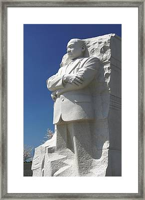 Martin Luther King Jr. Memorial Framed Print by Mike McGlothlen