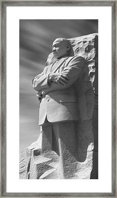 Martin Luther King Jr. Memorial - Washington D.c. Framed Print by Mike McGlothlen