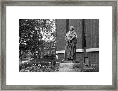 Martin Luther Framed Print by University Icons